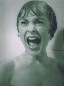 psicosis ducha grito
